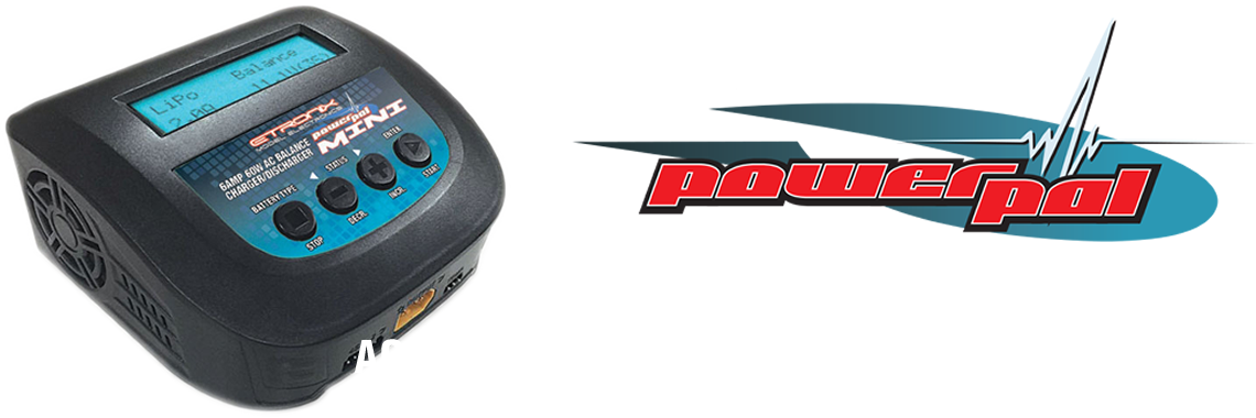 Etronix Powerpal Mini Ac 6a 60w Balance Charger & Discharger