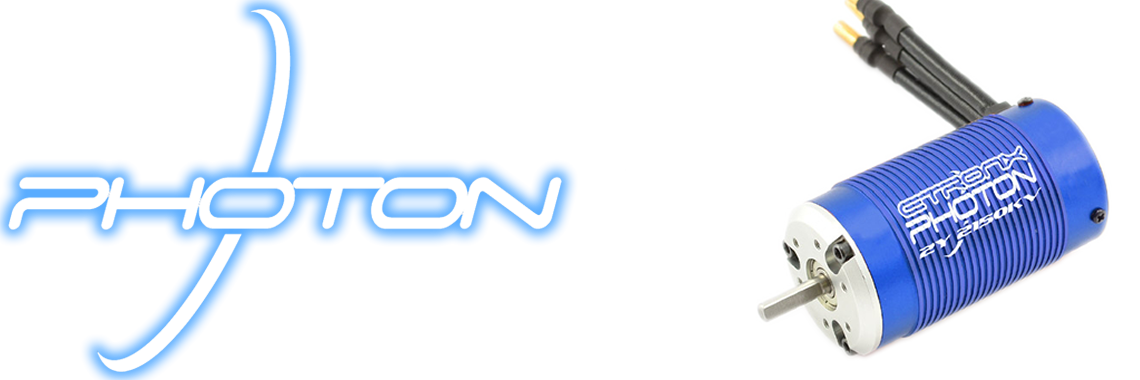 Etronix Photon 2.1 Sensorless 1/10 11.0R 3450KV Motor