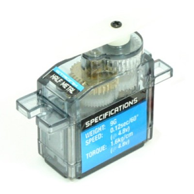 Etronix 9g Micro Servo with Half Metal Gears