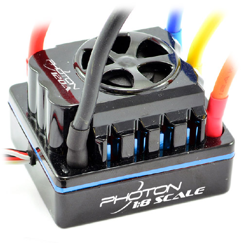 Etronix Photon 1/8 120amp Full Waterproof Brushless ESC