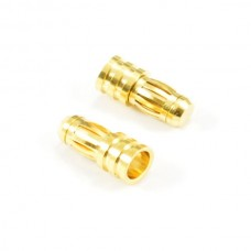 5.0MM Male Gold Connecters (2)