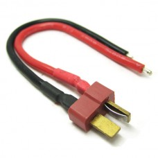 Male Deans Plug With 10cm 14AWG Silicone Wire
