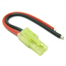 Male Micro Tamiya Connector With 10cm 18AWG Silicone Wire