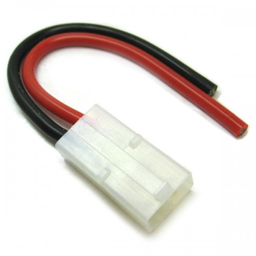Female Tamiya Connector With 10cm 14AWG Silicone Wire