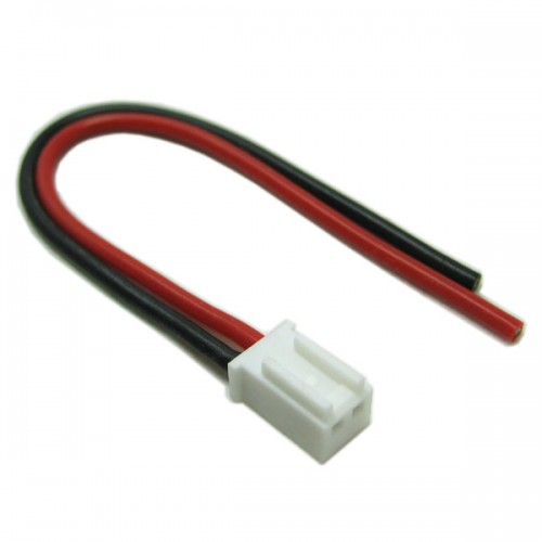 Male Micro Connector With 10cm 20AWG Silicone Wire