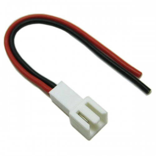 Female Micro Connector With 10cm 20AWG Silicone Wire