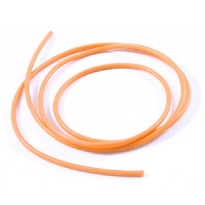14swg Silicone Wire Orange (100cm)