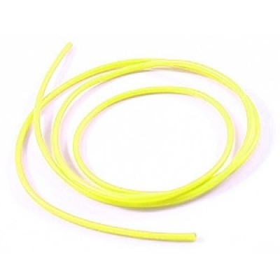 12swg Silicone Wire Yellow (100cm)