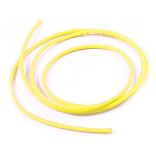 14AWG Silicone Wire Yellow (100cm)