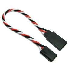 7cm 22AWG Futaba Twisted Extension Wire