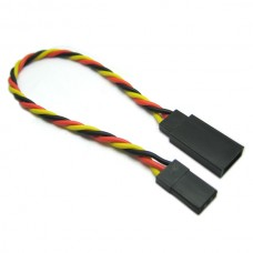 10cm 22AWG JR Twisted Extension Wire