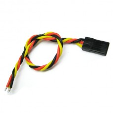 15cm 22AWG JR Twisted Servo Wire