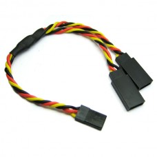 15cm 22AWG JR Twisted Y Extension Wire