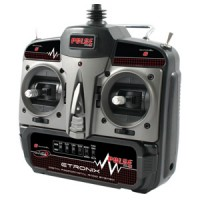 Etronix Pulse 2.0 X6 6ch 2.4g FHSS Radio System - Mode 1