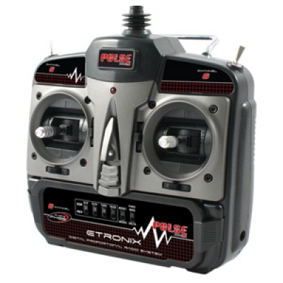 Etronix Pulse 2.0 X6 6ch 2.4g FHSS Radio System - Mode 2