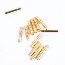 4.0mm Gold Connectors (6 Pairs Male/female)