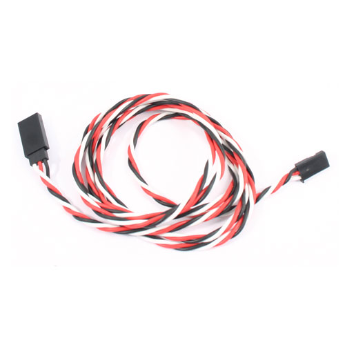 120cm 22AWG Futaba Twisted Extension Wire