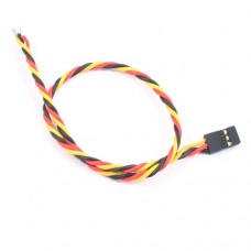 30cm 22AWG JR Twisted Servo Wire