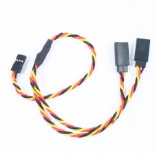 30cm 22AWG JR Twisted Y Extension Wire